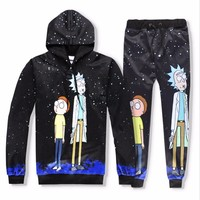 Rick and Morty  Print Hoodies or Skinny Jeans (Separate)
