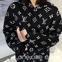 Louis Vuitton LV Men Women Fashion Pullover Sweater Hoodie
