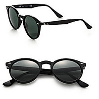 Ray-Ban - 49MM Round Sunglasses - Saks Fifth Avenue Mobile