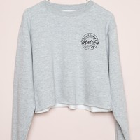 NANCY MALIBU LOCALS ONLY SWEATSHIRT