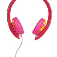 Chic Buds Ear Party Over Ear Headphones with Mic - Leandra:Amazon:Electronics