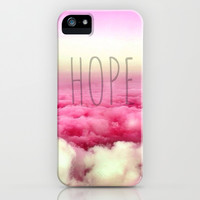 Hope iPhone & iPod Case by Pink Berry Pattern