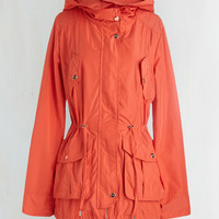 Mid-length Long Sleeve Adiron-decked Out Jacket