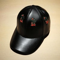 Embroidery Korean Winter Baseball Cap [11884734355]