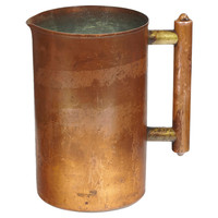 Copper Handled Pitcher