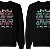As Sisters BFF Matching Sweatshirts - 365 Printing Inc