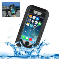 Bicycle Waterproof Case with Rotating Bike Holder Mount for iPhone 5 & 5s & SE