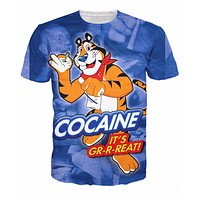 Cocaine It's Gr-r-reat! T-Shirt