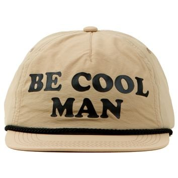 Captain Fin Be Cool Man Hat