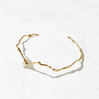 HLSK Fasolt Rainbow Moonstone Choker Necklace