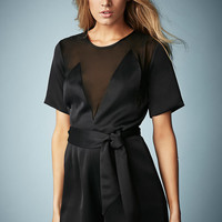 **Satin Playsuit by Kate Moss for T...