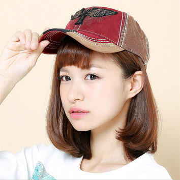 Adjustable Outdoor Prevented Bask Lady Baseball Cap