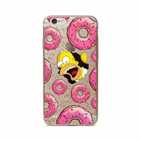New Fashion Cute Animal Pattern Slim Soft TPU Phone Case for iPhone 6S 5S 5C