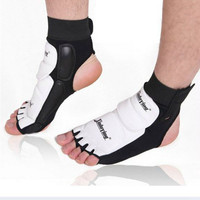 1pair Ankle Brace Support Pad Guard Foot Gloves Protection MMA Muay Thai Boxing SS