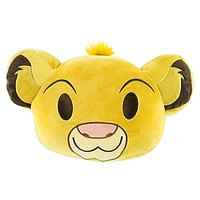Disney Simba Emoji 10'' Smiling Expressions Pillow Plush New With Tags