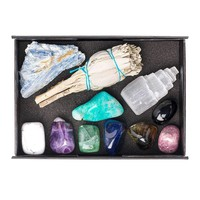 11pc Calm Premium Crystal Healing Set