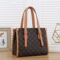 LV Louis Vuitton New Products Fully Printed Letters Lady Shopping Handbag Shoulder Bag Messenger Bag