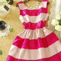 Colorful grain elegant shining dress from Fanewant