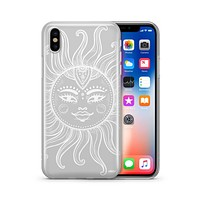 Henna Totemic Sun - Clear TPU - iPhone Case