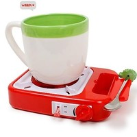 INFMETRY:: Gas Stove Shape USB Cup Warmer - Electronics