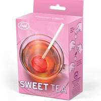 Fred & Friends Sweet Tea Infuser Red One Size For Women 27681430001