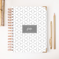 2018 Classic Planner – Gray Pattern