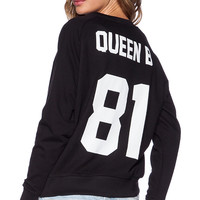 Eleven Paris Beyonce Sweatshirt in Black