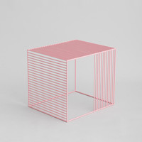 Iacoli & McAllister — Wire Side Table, Powder Coat