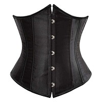Leslie Vaughan Superior SEXY Gothic Underbust Corset and Waist cincher Bustiers Top Workout Shape Body Belt Plus size Lingerie S-6XL