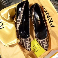 Fendi Beautiful Fashion Sandals And High Heels-4