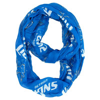Detroit Lions NFL Sheer Infinity Scarf