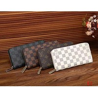 LV Women Zipper Leather Wallet Purse I-LLBPFSH Tagre™