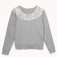 Lovely Lace Sweatshirt (Kids)