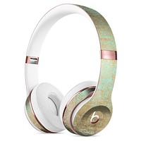 Gold Scratched Foil v4 Full-Body Skin Kit for the Beats by Dre Solo 3 Wireless Headphones
