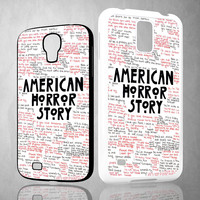 American Horror Story Quotes X1091 Samsung Galaxy S3 S4 S5 (Mini) S6 S6 Edge,Note 2 3 4, HTC One S X M7 M8 M9 Cases