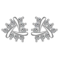 online shopping india silver-plated earings jewelry insets No Rules stud brinco s in euros