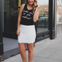 Lily of the Valley Skirt