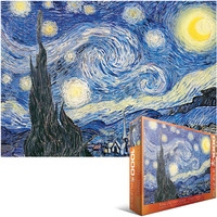 Jigsaw Puzzle 1000 Pieces, Starry Night