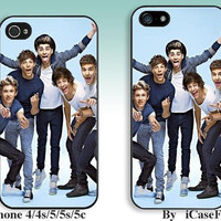 One Direction--iPhone5 Case, iPhone 4 case, iphone 4s case,iPhone 5C Case, iPhone5s Case, iPhone Case, iphone cover,phone case