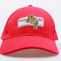 CosDaddy Forrest Gump Cap Bubba Forest Gump Red Cap