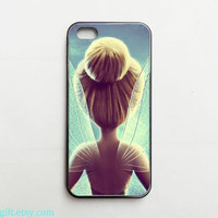 Disney inspired TinkerBell iPhone 5 case,iPhone 5C case, iPhone 5S case, iPhone 4 case, iPhone 4S case,iPhone case,iPhone Cover