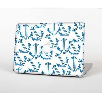 """The Blue Anchor Stitched Pattern Skin for the Apple MacBook Air 13"""""""
