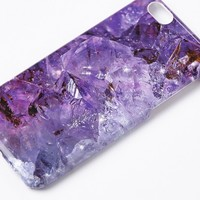 Missguided - Purple Crystal Effect iPhone 6 Case