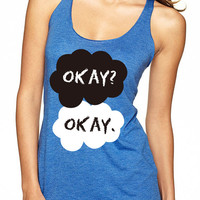 TFIOS Tank Top // The Fault In Our Stars Tank Top // Okay Okay Tank Top / Movie