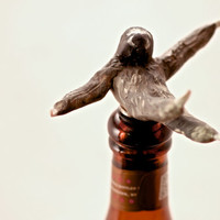 The Drunken Sloth: Bottle Stopper, Wine Stopper