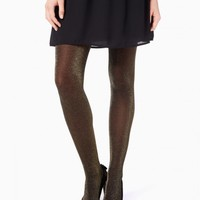 Step Out Lurex Tights | Charming Charlie