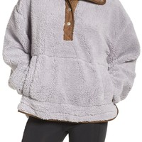 Free People Oh So Cozy Fleece Pullover | Nordstrom