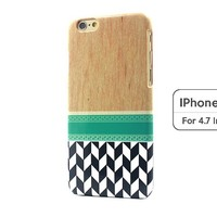 Sky2light,art Wood Image Iphone 6,fashion Iphone 6 Cover,personalized Iphone 6,mosaic Tile Iphone 6,4.7 Inch Iphone 6 Cover
