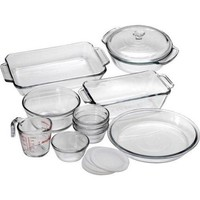 Anchor Hocking 82210OBL11 15 Pc. Bake Set - Walmart.com