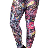 Geometric Colorful Leggings Design 205